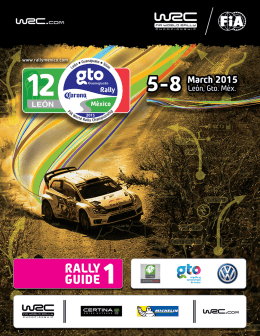 Rally Guide 1 - Rally México