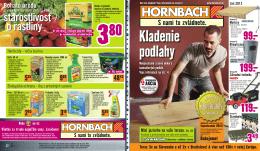 novinka - Hornbach