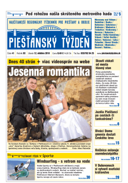 Jesenná romantika - Piešťanský denník