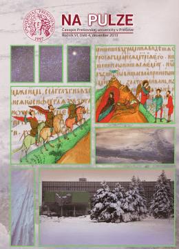 NA PULZE, číslo 4/2013 - Prešovská univerzita v Prešove