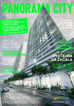brožúra projektu