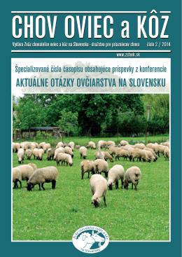 Číslo 02/2014 - Zväz chovateľov oviec a kôz na Slovensku