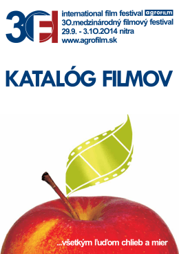 Katalóg filmov 2014