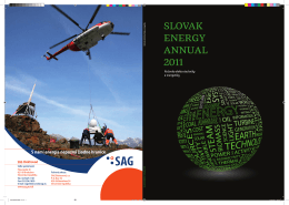 SLOVAK ENERGY ANNUAL 2011