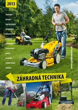 Stiahnite si katalóg Záhrada 2013 formát PDF