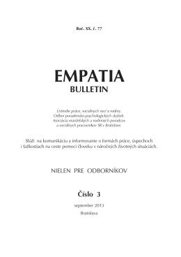EMPATIA - Psychologia.sk