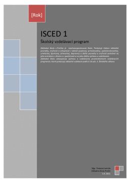 ISCED 1 - Základná škola Prečín