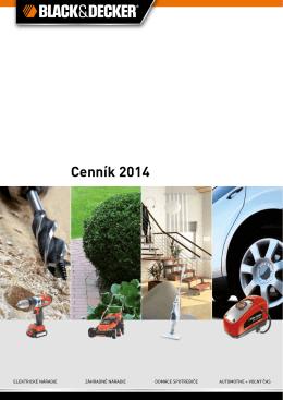 Cenník BLACK&DECKER 6,5 MB 2015