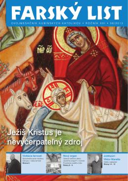 Ježiš Kristus je nevyčerpateľný zdroj