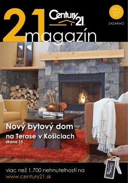 Nový bytový dom - CENTURY 21 Blog