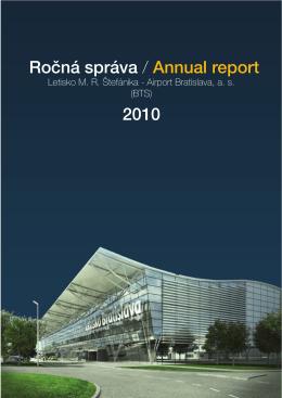 Ročná správa / Annual report 2010
