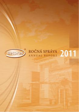 Ročná správa 2011