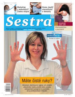Máte čisté ruky? - MAFRA Slovakia as predplatne