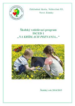 Školský vzdelávací program – ISCED 1