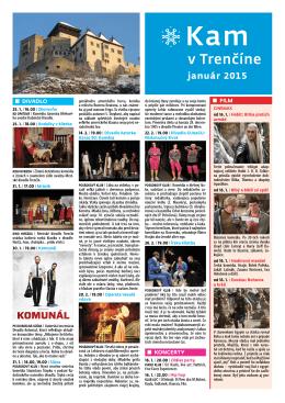 január 2015 - Visit Trenčín
