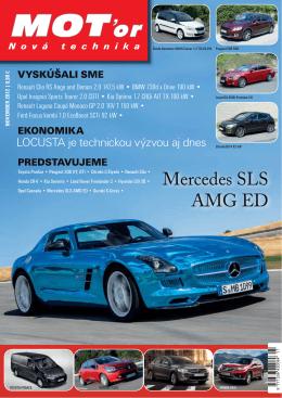 Mercedes SLS AMG ED