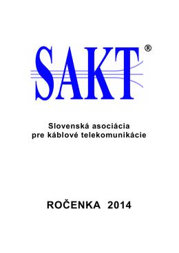 Ročenka 2014.pdf - Výskumný ústav spojov, no