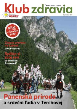 Časopis jeseň 2014 PDF