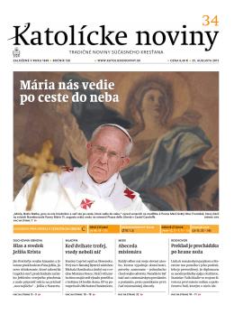 Katolícke noviny str. 2