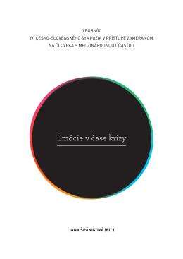 zborník iv. česko-slovenského sympózia v prístupe zameranom na