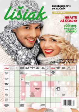 December 2014 - Lišiak