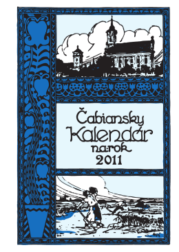 Kalendar 2011.indd - Szlovák Kultúra Háza