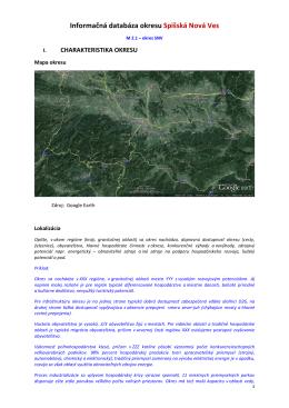 Informačná charakteristika okresu Sp Nová Ves_vf