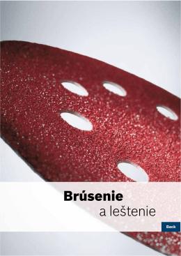 Brúsenie a leštenie - Elektrické náradie Bosch