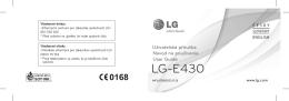 LG-E430 - Mobil