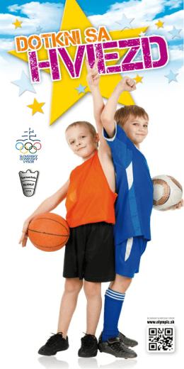 Celá brožúra na stiahnutie. - milujemsport.olympic.sk
