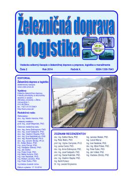 číslo 2/2014 - Fakulta prevádzky a ekonomiky dopravy a spojov