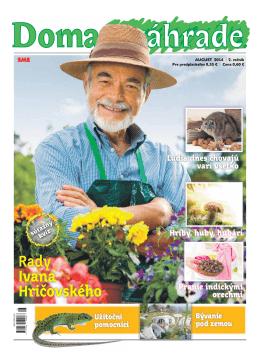 August 2014 - Doma v zahrade