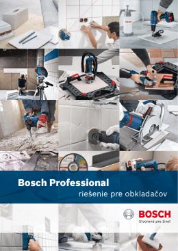 Bosch Professional riešenie pre obkladacov