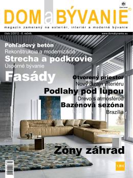 stiahnuť PDF - Dom & Bývanie