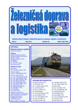 2/2012 - Fakulta prevádzky a ekonomiky dopravy a spojov