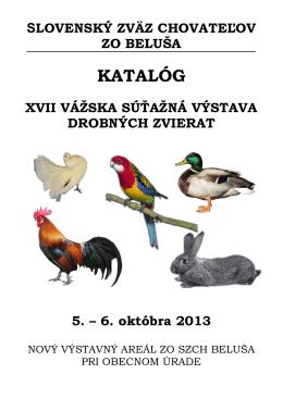 KATALÓG - ZO SZCH BELUŠA