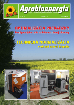 ABE 1/2011 - Agrobioenergia