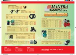Maxtra Control Akcia 2014.indd