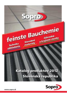 Trass - Sopro Bauchemie GmbH