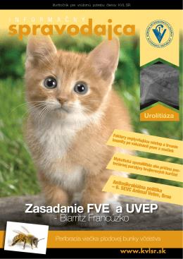 spravodajca - Komora veterinárnych lekárov SR