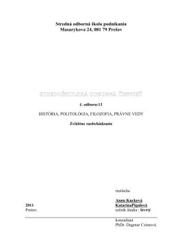 praca - Zvláštne zaobchádzanie.pdf