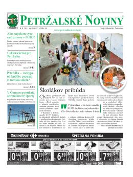 ivadlo.sk - Petržalské Noviny