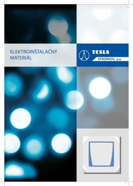 ElEktroinštalačný matEriál - Tesla Stropkov