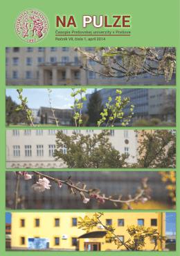 NA PULZE, číslo 1/2014 - Prešovská univerzita v Prešove