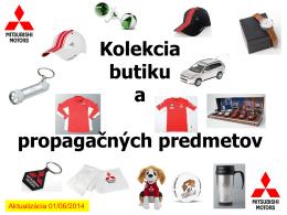 Mitsubishi butik vo formáte PDF
