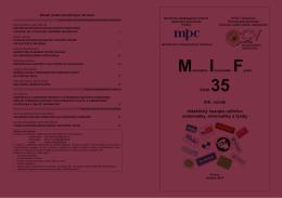 číslo 35 XIX. ročník didaktický časopis učiteľov matematiky