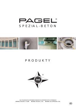 SPEZIAL-BETON PRODUKTY - Pagel Spezial