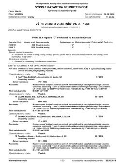 LV 1268 - komposesorat.sk