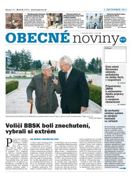 Voliči BBSK boli znechutení, vybrali si extrém