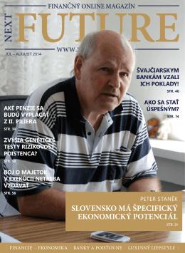 peter staněk slovensko má špecifický ekonomický